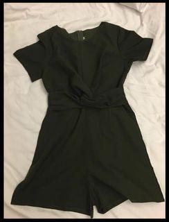 Green jumpsuit - brand new