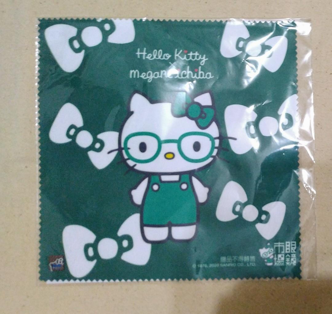 Hello kitty 眼鏡布