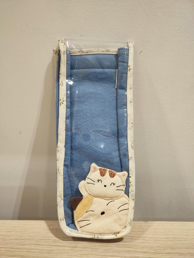 【日本Kiro貓】手工純棉文具袋