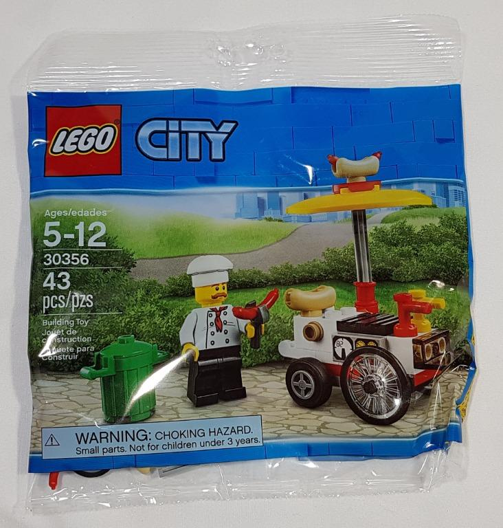 Lego City Hot Dog Stand #30356 New