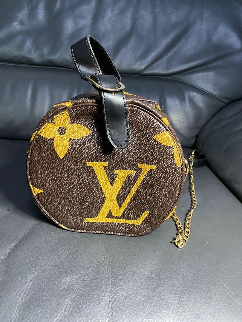 Lv round bag