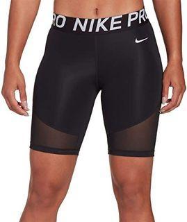 "Nike 8"" mesh biker shorts"