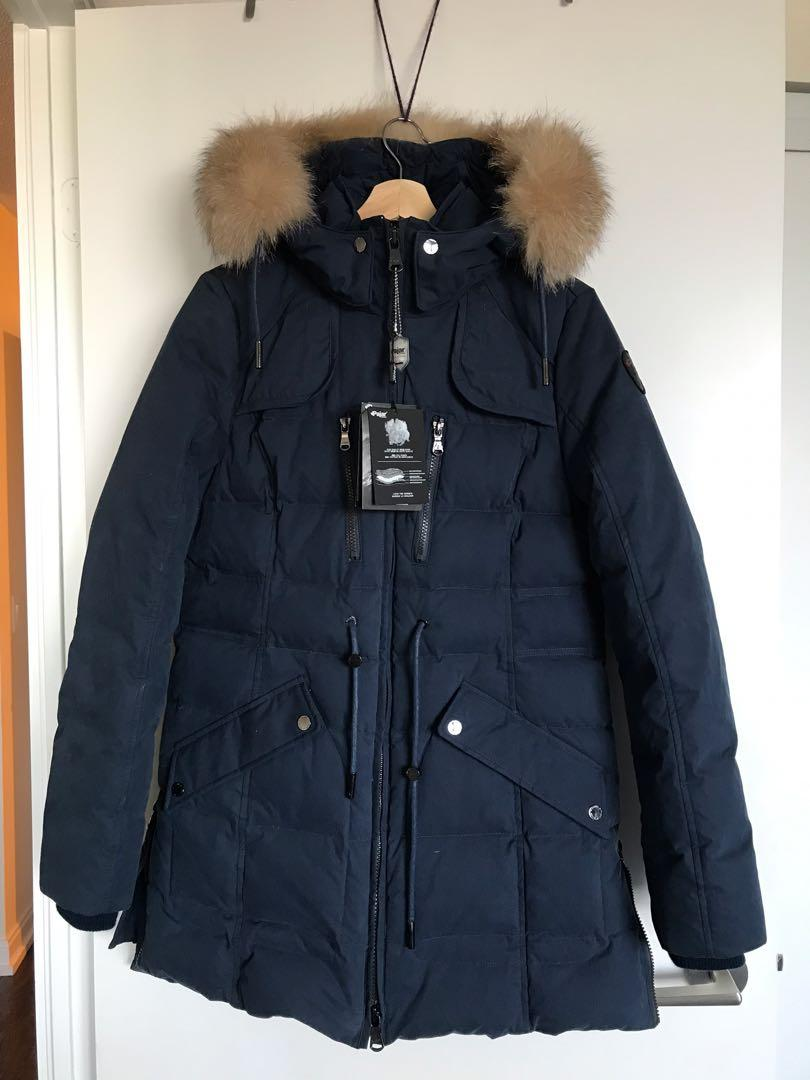 NWT Pajar Women's Large Blue Winter Parka- Ava