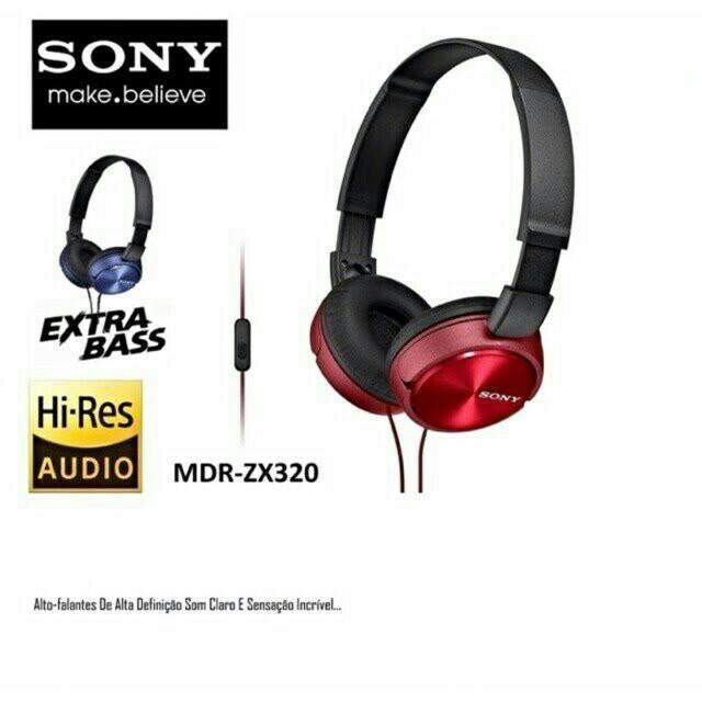 🐱On Sale🐱Sony MDR-ZX320 Headband Headphones - Blue