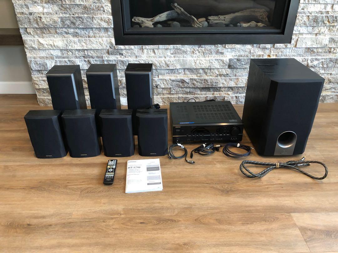 ONKYO 9-Piece Home Theatre Sound System