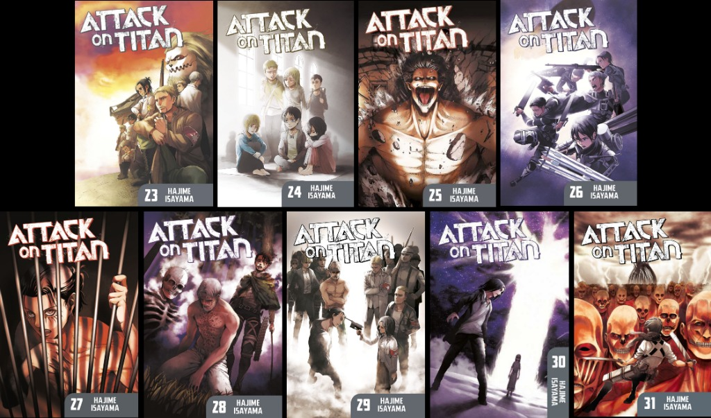 Pre Order Attack On Titan Vol 23 31 Hobbies Toys Books Magazines Comics Manga On Carousell We have a buying guide listed for the best attack on titan volume coverss available in the 2020 marketplace. pre order attack on titan vol 23 31
