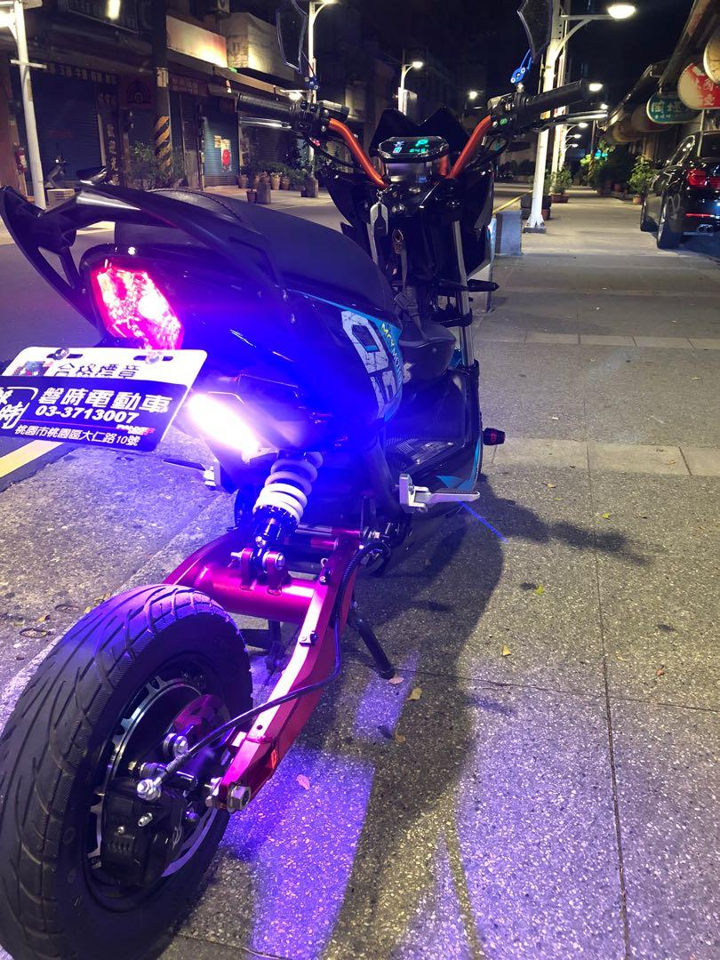Rush sale Mcy 60volts 1500 watts 24a new swing arm and monoshock