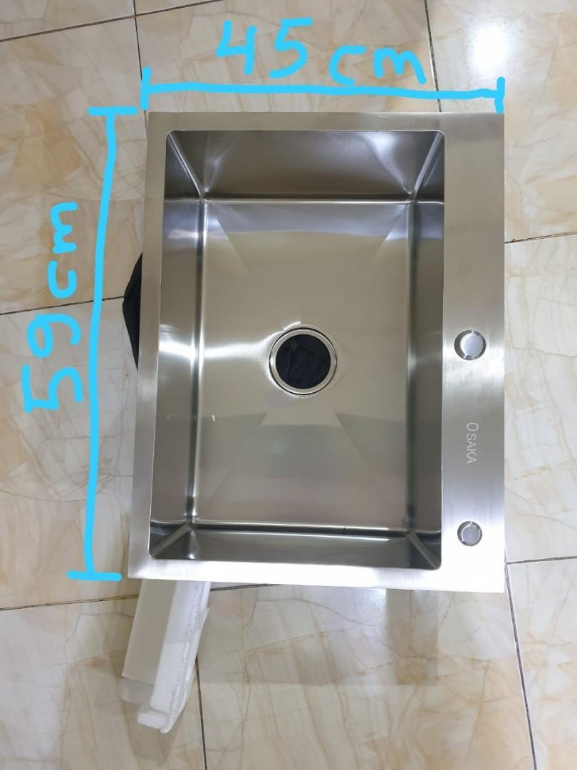 Sink cuci piring osaka tebal 3mm