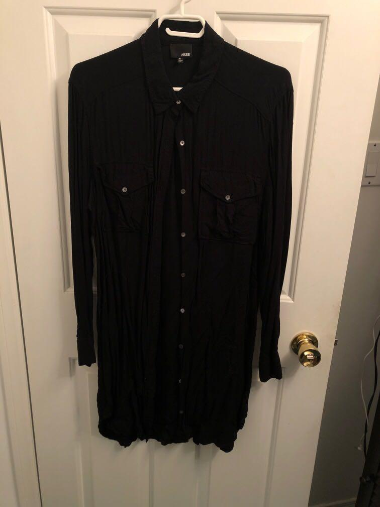 Wilfred free Longsleeve Button Down Size M