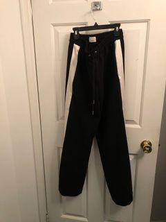 Wilfred White Stripe Pant Size Small
