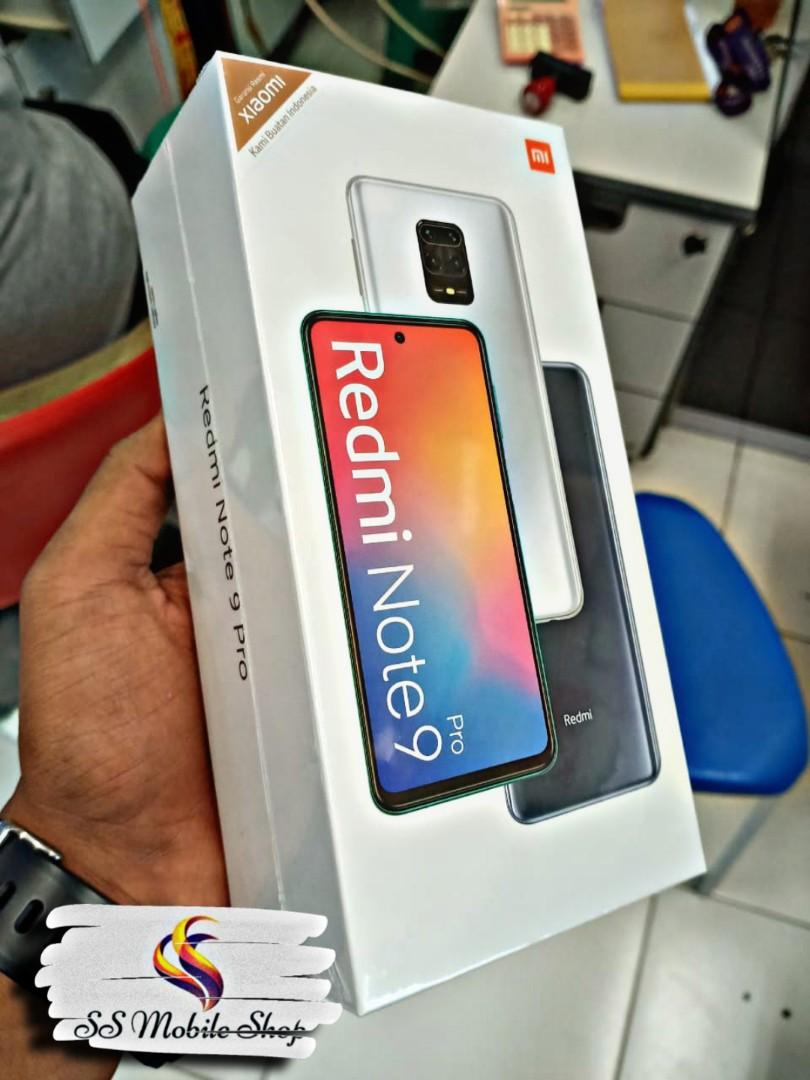 Xiaomi Redmi Note 9 Pro 8gb 128gb Resmi Kredit Hp Telepon Seluler Tablet Ponsel Android Xiaomi Di Carousell