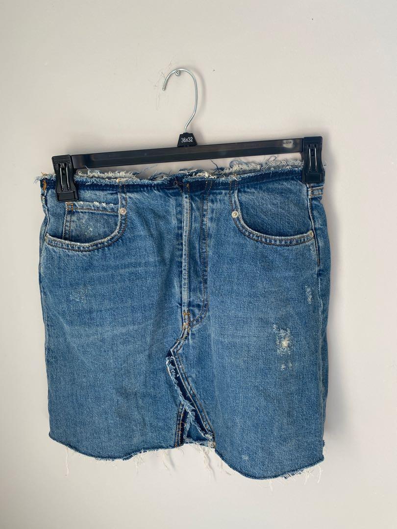 Zara Denium Skirt size M