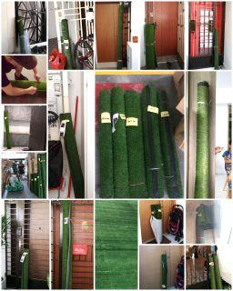(Promotion) Local Whole Saler Artificial Grass 10mm full Green or Army Green