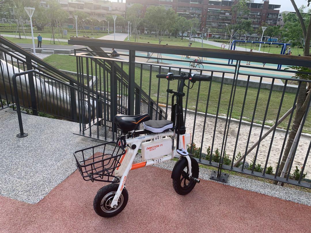 樂行天下 inmotion P1  電動自行車/親子車/電動腳踏車/ 遛娃神器 電池狀況優良 附帶原廠充電器  p2可參考