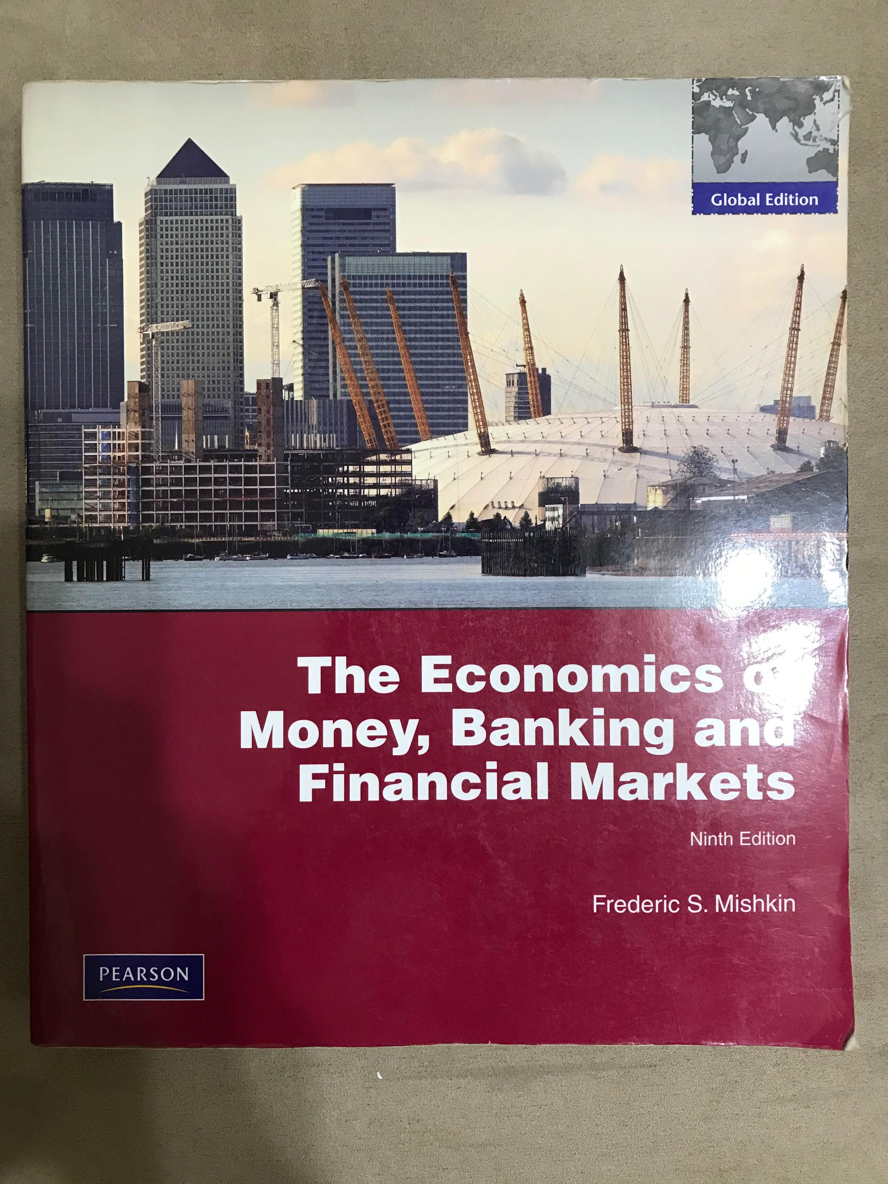 #開學季 The Economics of Money, Banking, and Financial Markets 貨幣銀行與金融市場