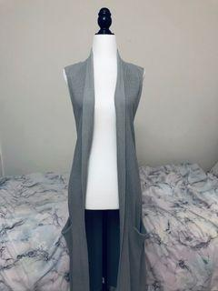 aritzia wilfred knit vest duster size s