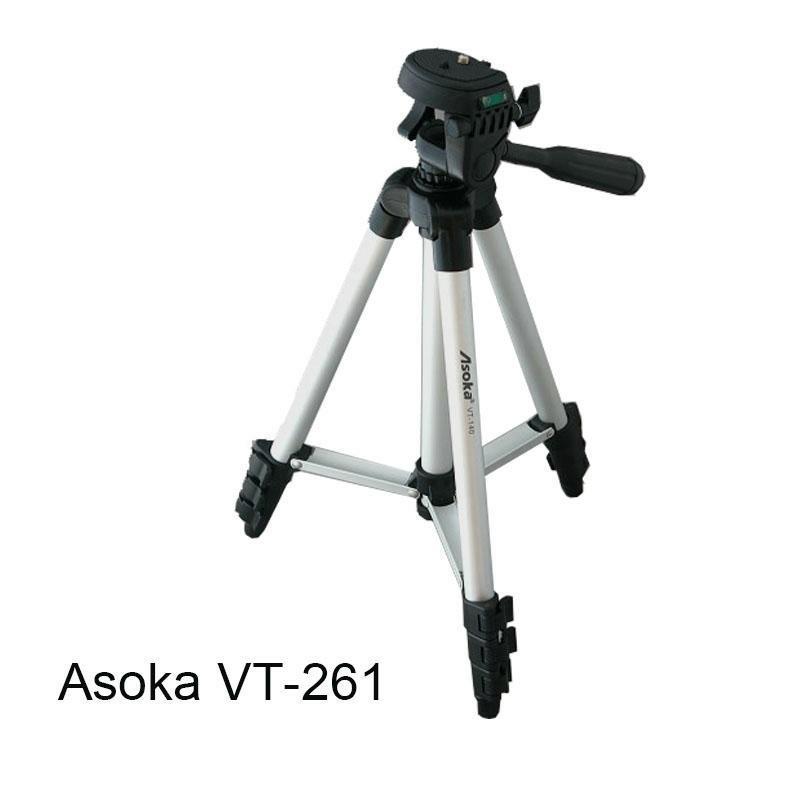 Asoka VT-261 四節 三腳架   129cm 便利攜帶 便攜 攝影 水平儀