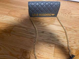 Authentic love moschino crossbody
