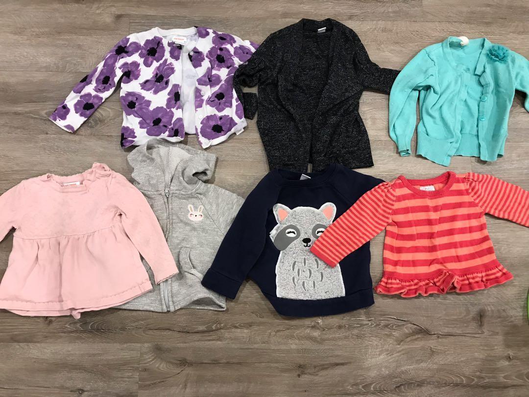 Baby girls sweater lot