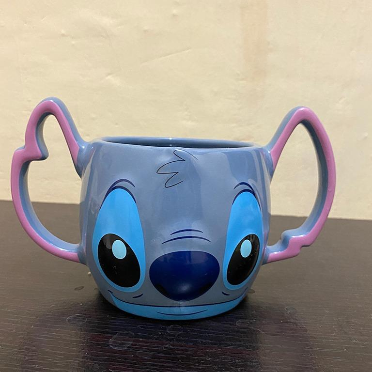Gelas Stitch Original Disney Merchandise 3D Mug