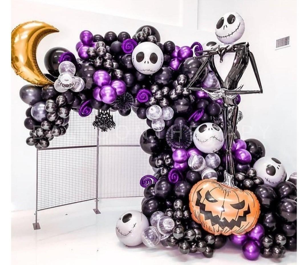 Halloween Balloon Garland Lifestyle Services Event Party Services On Carousell