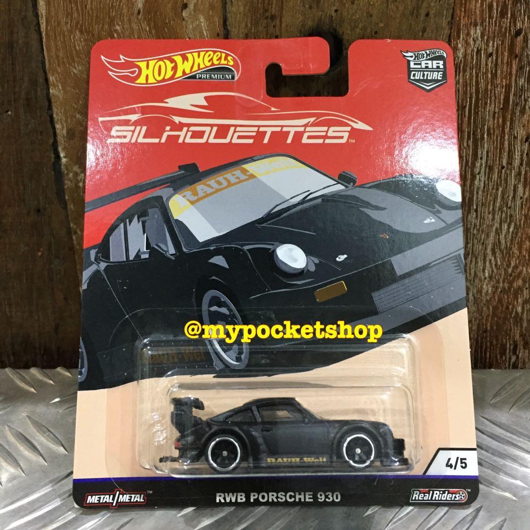 Hot Wheels Rwb Porsche 930 2019 Hotwheels Premium Car Culture Silhouettes Toys Games Others On Carousell