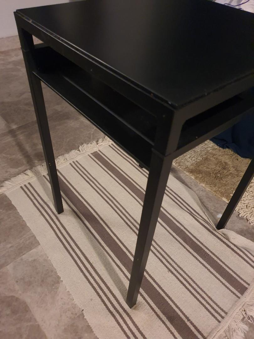 Ikea Black Coffee Table Furniture Tables Chairs On Carousell