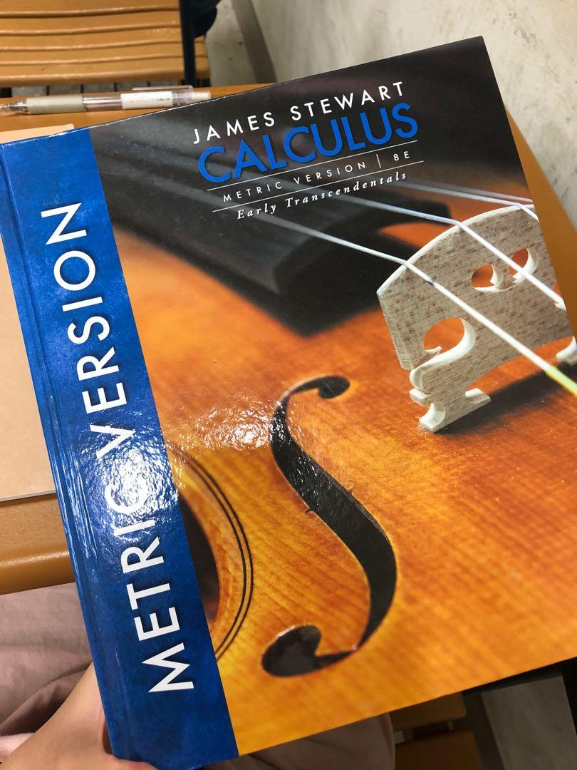 James Steward Calculus 微積分甲 8th edition