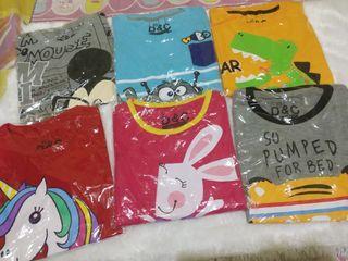 Kaos Atasan Anak Laki-laki & Perempuan