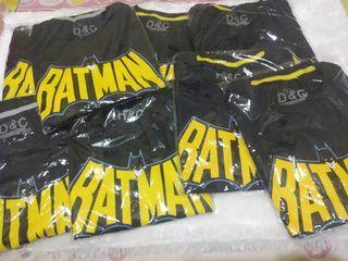 Kaos Atasan Anak Laki-laki Batman size 1-10
