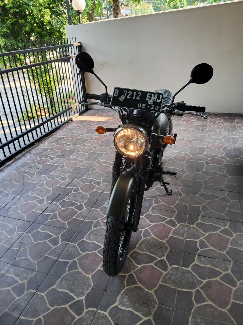 Kawasaki w175se 2018 km very low