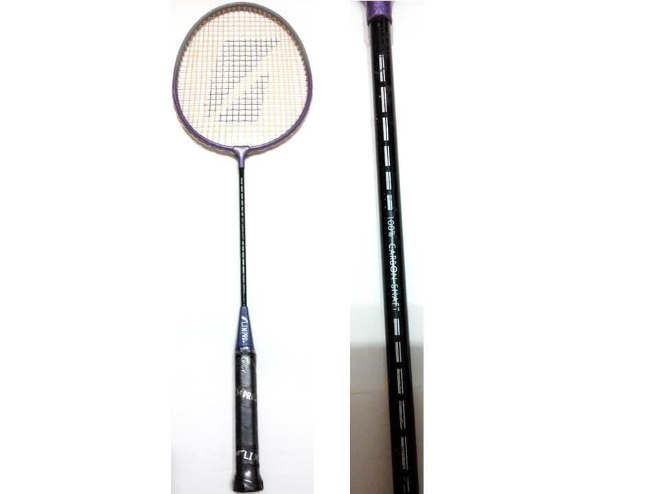 LIM PRO 100% CARBON SHAFT羽球拍