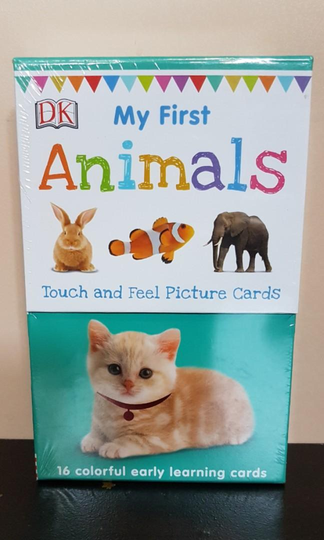 My First Animals Touch and Feel Picture Cards