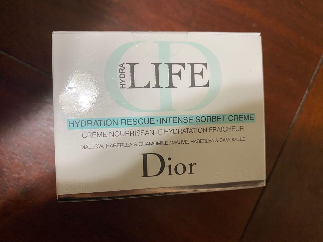 New Dior Hydra Rescue moisturizer cream!
