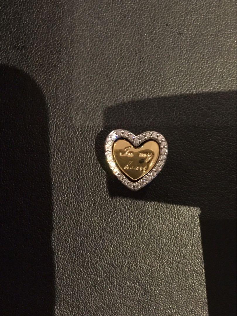 Pandora- In My Heart Split Heart Charm