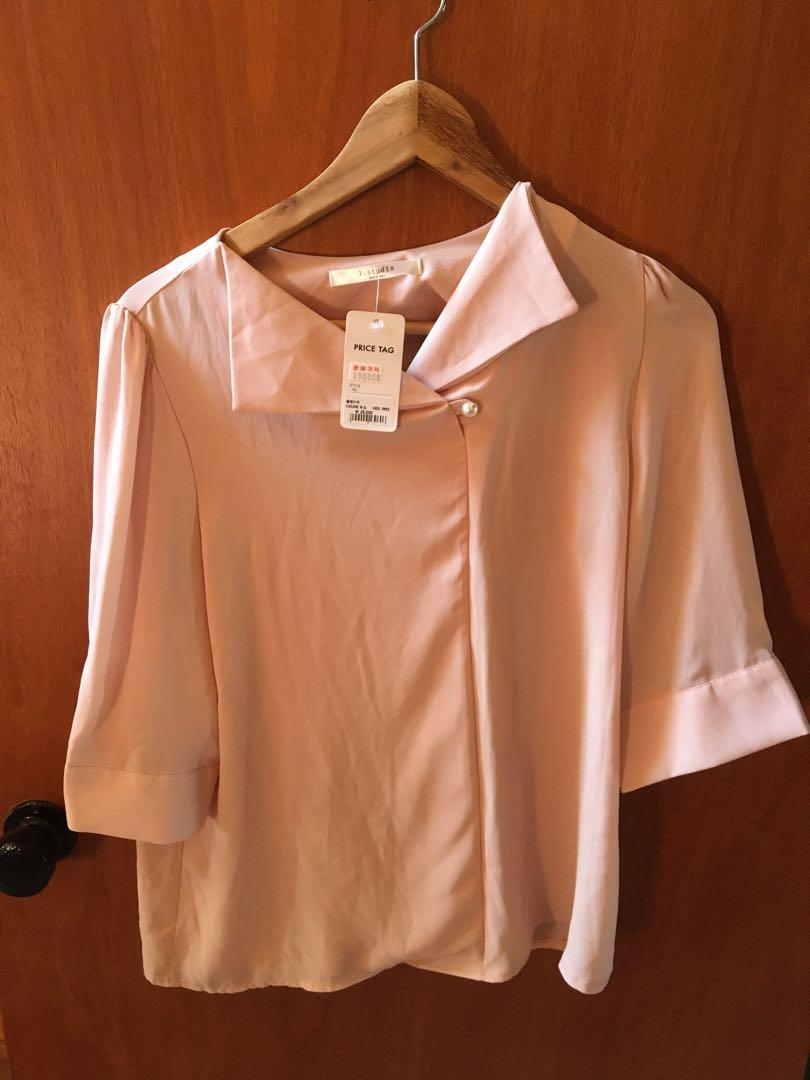 Pink blouse from Korea