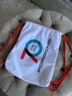 Porsche drawstring bag