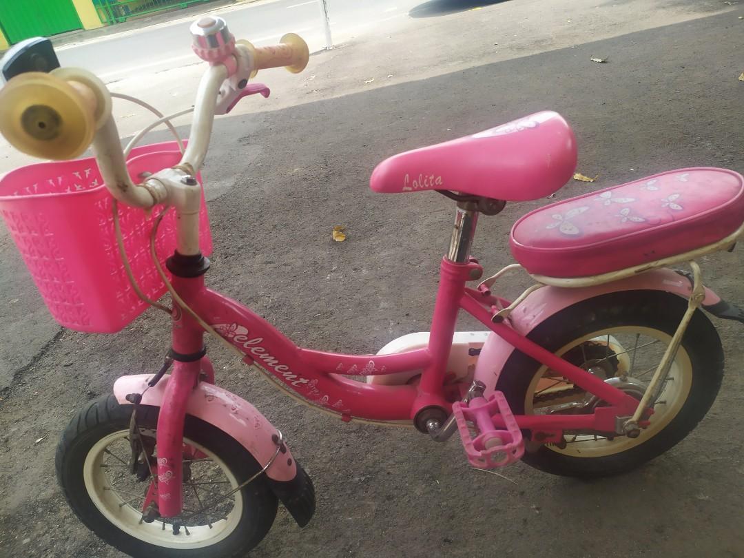 Sepeda anak element lolita