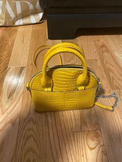 Snake print mini bag