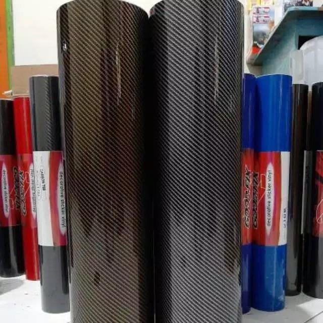 Sticker skotlet carbon kevlar print glosy