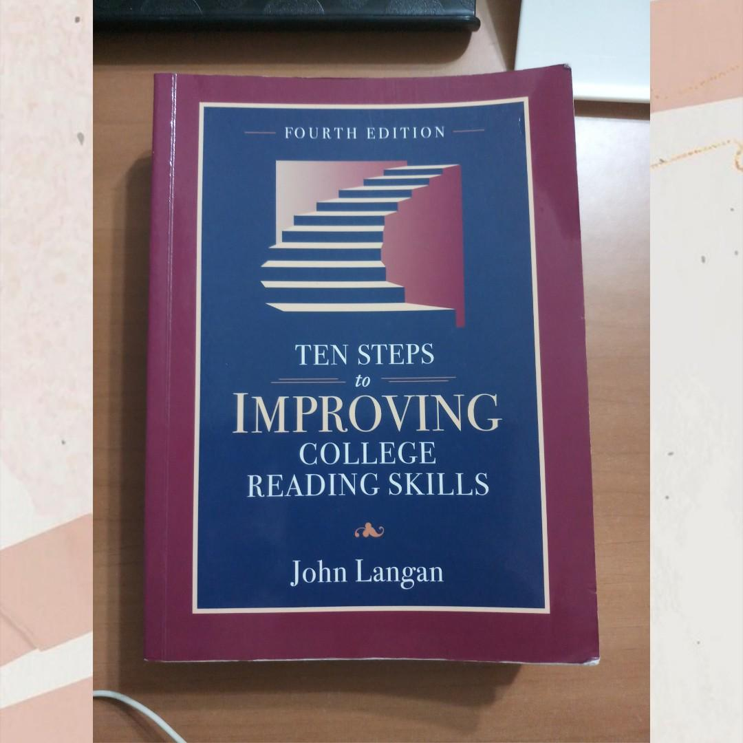 Ten Steps to Improving College Reading Skills (第四版) #開學季