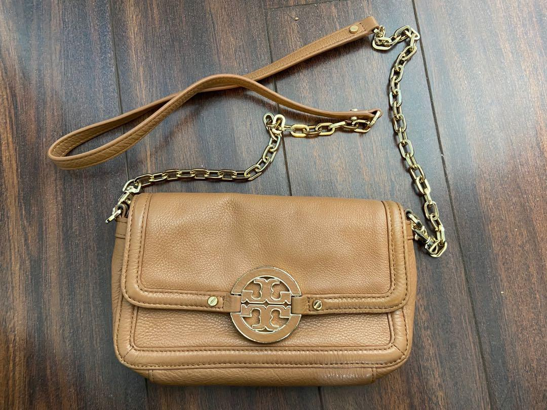 Tory Burch tan crossbody