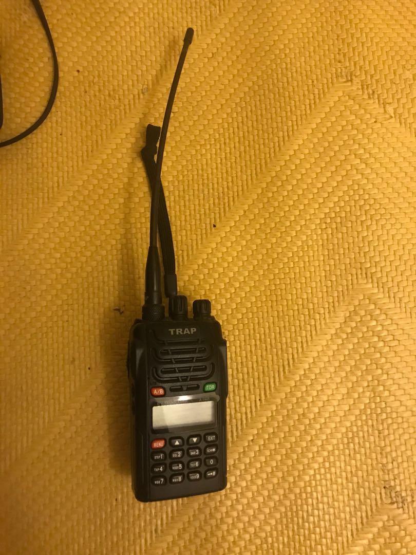 【TRAP】TRAP M1443 全新! 雙頻對講機 M-1443 無線電