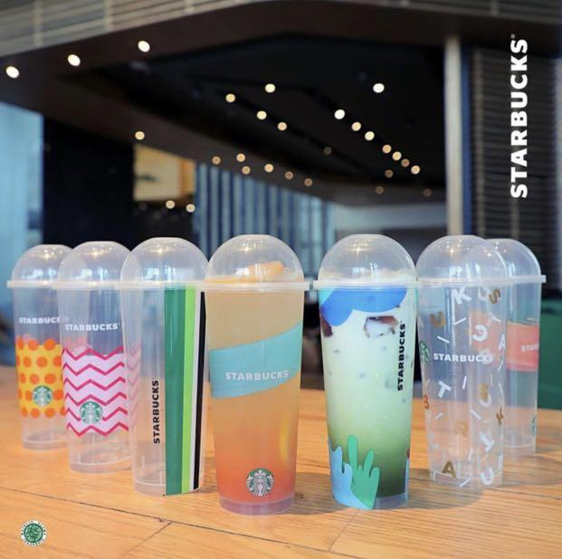 Tumbler Starbucks Reusable Cup Summer