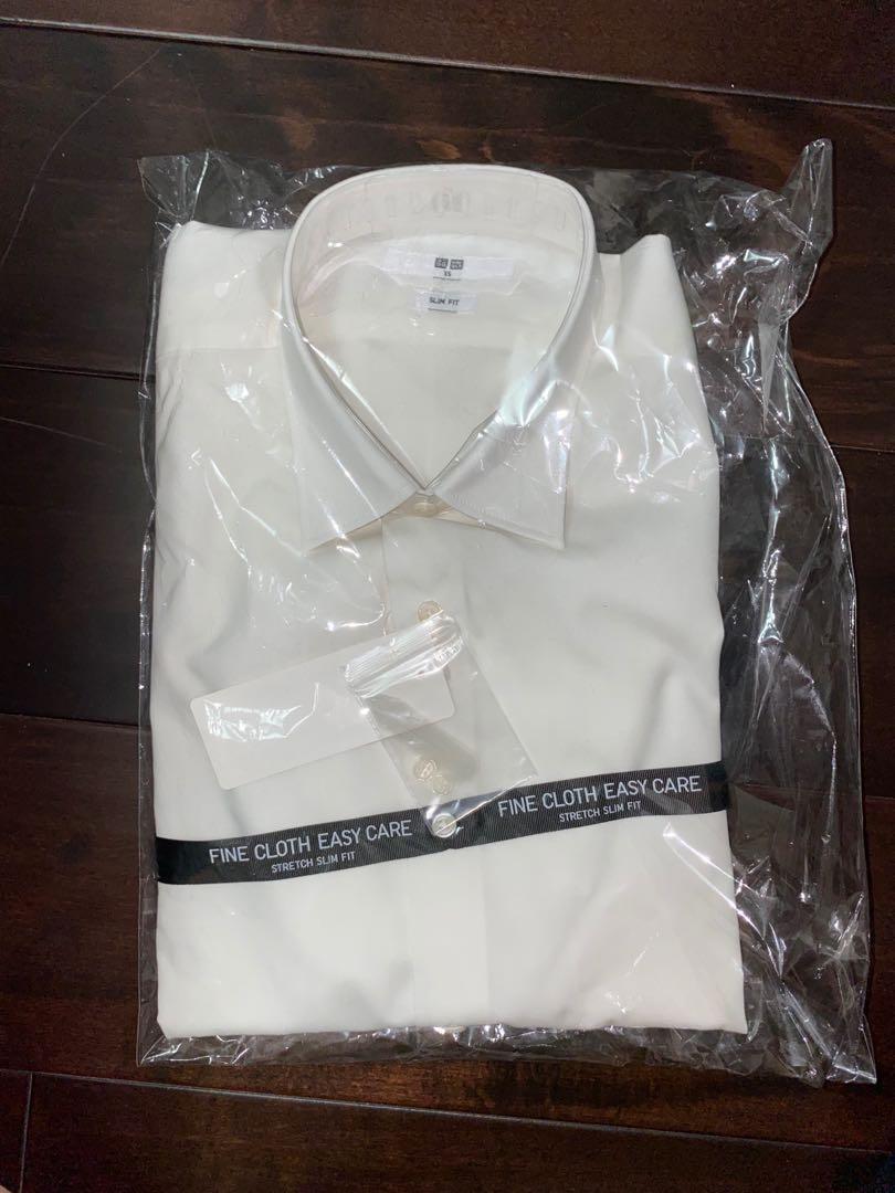 Uniqlo Men's Easy Care Long Sleeve Shirt