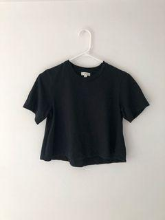 Wilfred flare cropped tee