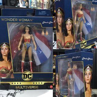 "Wonder Woman Lynda Carter version - DC Multiverse by Mattel 6"" action figure"