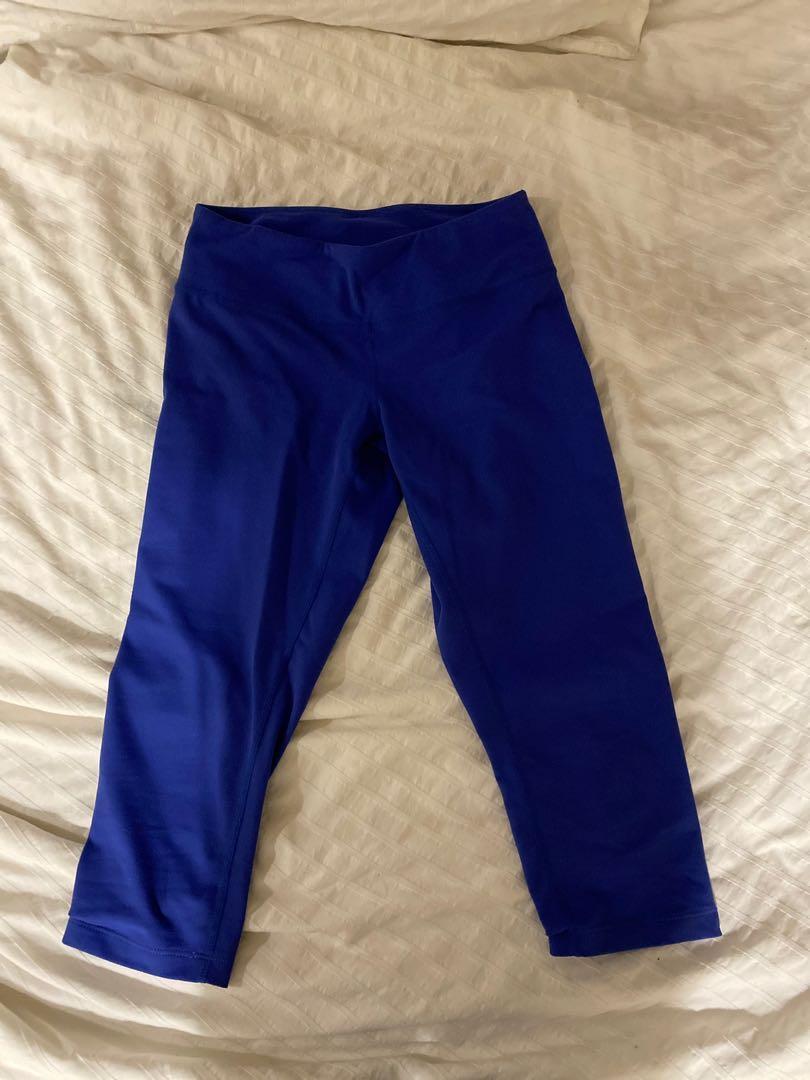 Zella cropped athletic leggings