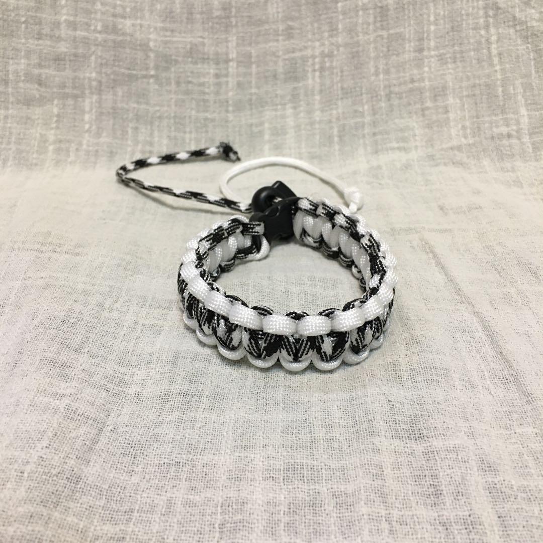 編織▸黑白配◂傘繩飲料袋