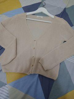 (正韓)駝色針織外套